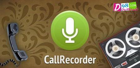 دانلود نرم افزار موبایل ضبط تماس ها – CallRecorder 1.2.9 برای اندروید