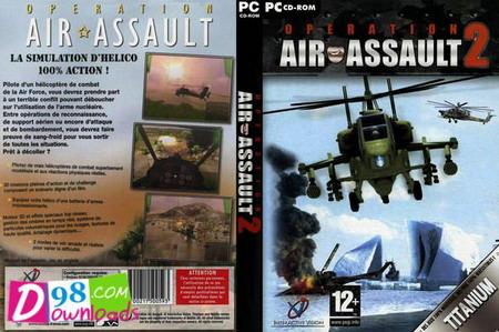 دانلود بازی کم حجم کامپیوتر هلیکپتر جنگی 2 - Air Assault 2