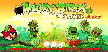 دانلود بازی پرندگان خشمگین برای آندروید -  Angry Birds Seasons 3.0.1